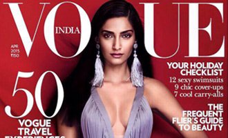 Sonam Kapoor - Hot & Bold on Vogue's April Issue