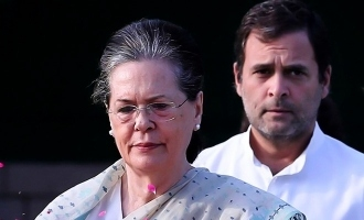 How long will Sonia Gandhi serve as Congress president?