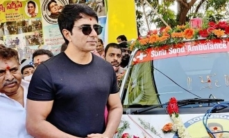 An ambulance service started on actor SonuSood name