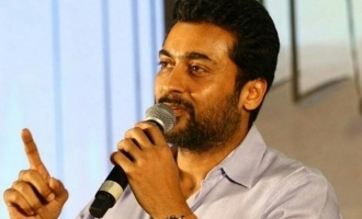 Suriya does this for the first time in his career making fans super happy