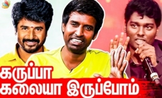 One take Genius - Soori about Sivakarthikeyan and Vijay Sethupathi