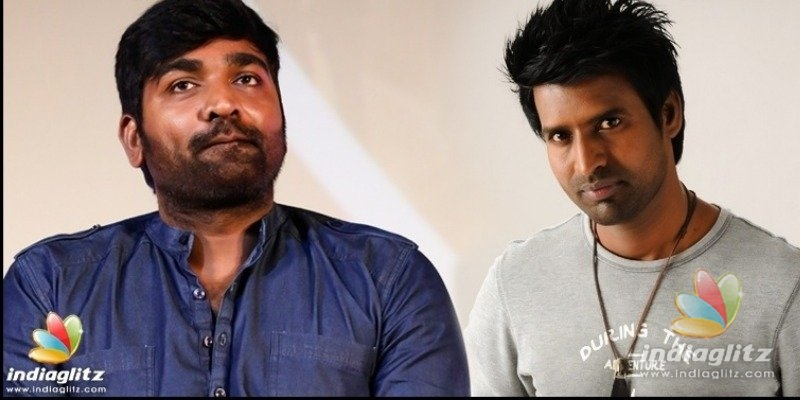 Vijay Sethupathi gives a pleasant surprise to Soori and his family