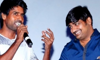 Soori and Sathish's super new year with Superstar!