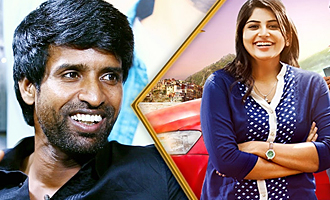She drove throughout the film WITHOUT knowing driving : Soori Comedy Interview