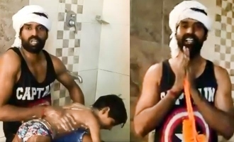 Soori releases hilarious toilet washing video with a salute to sanitary workers
