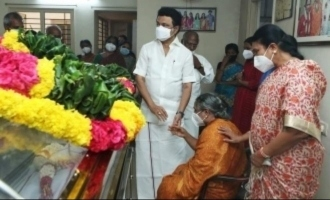 Legendary writer-director Sornam passes away - M.K. Stalin's debut movie was directed by him