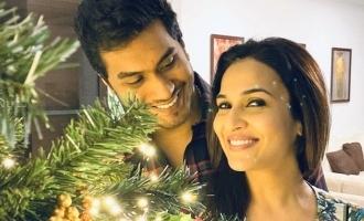 Soundarya Rajnikanth's cute Christmas wishes!