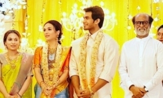 Soundarya - Vishagan's marriage reception