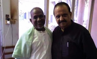 Legends Ilaiyaraja and SPB reunite!