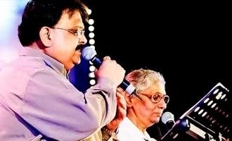 நீயா நானா? என போட்டி போடுவோம்: எஸ்பிபி குறித்து எஸ்.ஜானகி
