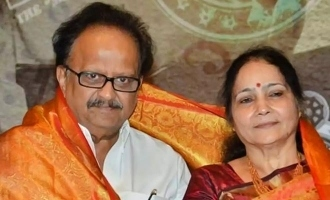 Rare video of SPB trolling his wife on stage