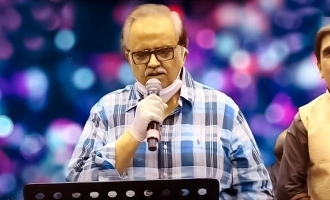 SP Balasubrahmanyam's memorable, sensible speech after final live performance!
