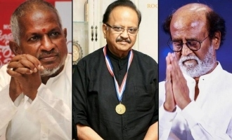 SPB's last songs for Ilayaraja and Rajini