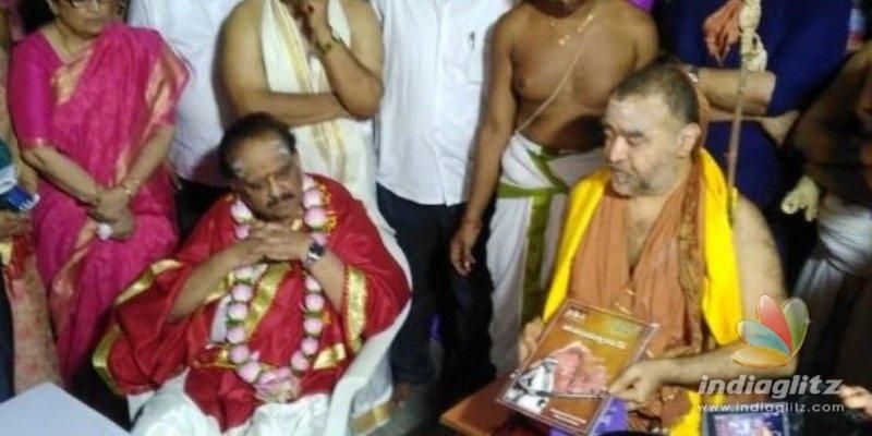 SPB donates his ancestral property to Kanchi madam
