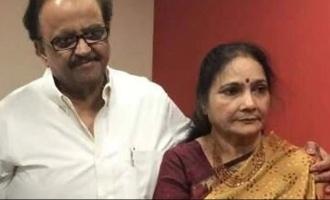 SPB and wife Savithri celebrate their wedding anniversary in hospital ICU