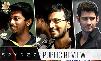 Spyder Tamil Movie Public Review