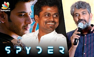 Director Rajamouli appreciates AR Murugadoss for Spyder Teaser