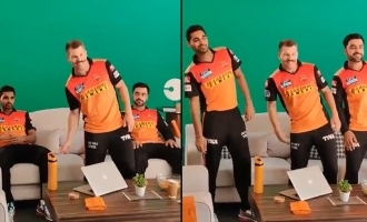 David Warner and SRH team's dance to 'Vaathi Coming' goes viral