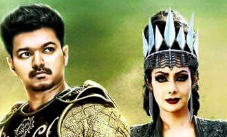 Sridevi selects 'Puli'over a blockbuster Telugu film?
