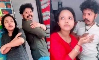இணையத்தை கலக்கும் ஸ்ரீதர் மாஸ்டர் மகளின் நடன வீடியோ
