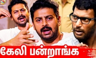 I felt very shame : Srikanth about Vishal Team