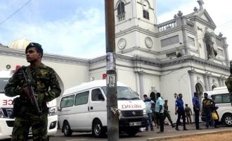 A series bomb blast in Srilanka 160 dead