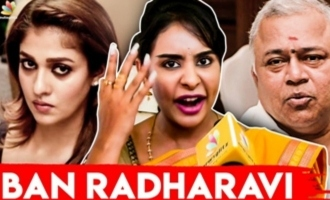 He Should be Banned : Sri Reddy Slams Radha Ravi for Sexist Comments on Nayanthara