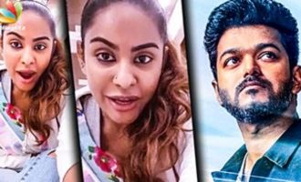 Sri Reddy to act with Thalapathy Vijay ?