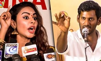 Sri Reddy Strong WARNING to Nadigar Sangam