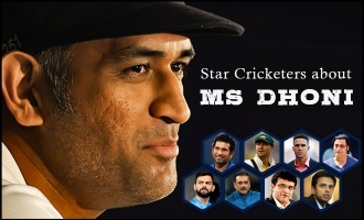 Star Cricketers about MS Dhoni - Special Slide Show