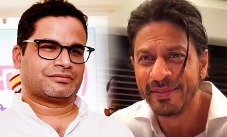 Shah Rukh Khan to make web series on political strategist Prashant Kishor's life?
