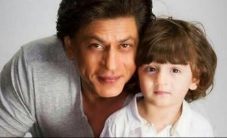 Shah Rukh Khan's six-year-old son Abram follows cute family tradition