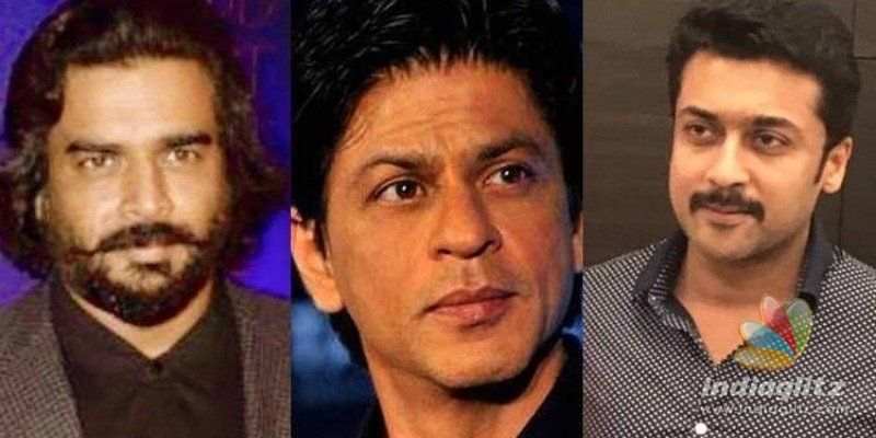 Shah Rukh Khan and Suriya in Madhavans career landmark film