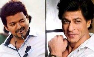 Shah Rukh Khan describes Thalapathy Vijay in two words