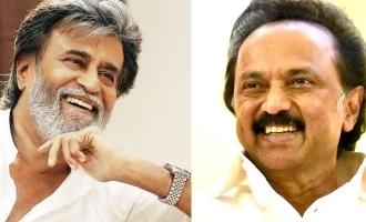 Actor Rajinikanth congratulated DMK leader Stalin on his birthday over the phone
