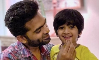 Simbu'sc cute photo and video with nephew turns viral!