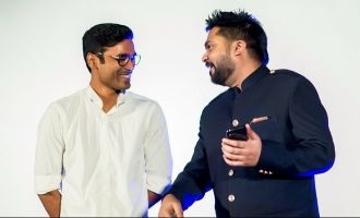 Simbu's wow message to Dhanush