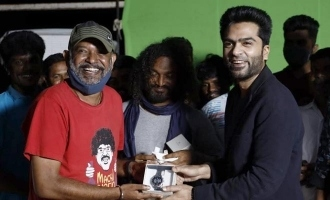 STR's special gift to maanadu director Venkat Prabhu