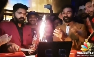 Dhanush makes Simbu's big day even more special