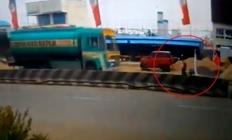 VIDEO: Chennai techie killed due to  illegal  banner