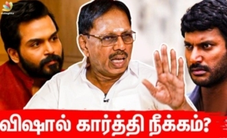 Why Vishal & Karthi Removed ? Tirupur Subramaniyam Opens Up