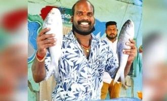 கொரோனா லாக்டவுன்: வருமானம் இல்லாததால் மீன் வியாபாரியான நடிகர்