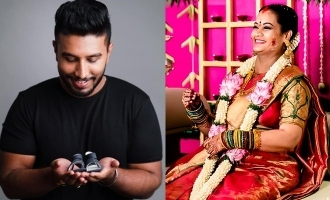 Bigg Boss Suja Varunee - Shiva Kumar blessed with a baby boy