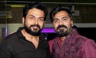 'Yaaraiyum Ivlo Azhaga' - Simbu's soulful folk melody video for Karthi's 'Sulthan' is here