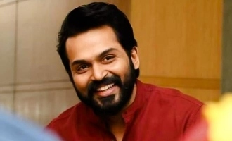 Karthi shares an interesting update on his next big release!