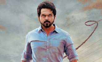Karthi's majestic first look from 'Sultan' released