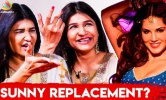 OMG! Unexpected Replacement for Sunny Leone : Anjena Kriti & Inigo Funny Interview