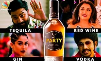 Alcohol Pick of Party Movie Actors : Suresh Opens Up