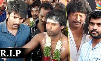 Actor Sivakarthikeyan, Vimal pay last respects to Soori's Father