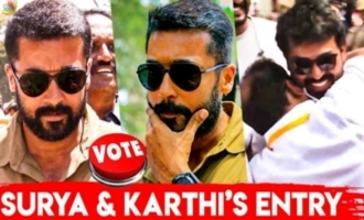 Surya & Karthi cast their VOTE for Nadigar Sangam Election 2019